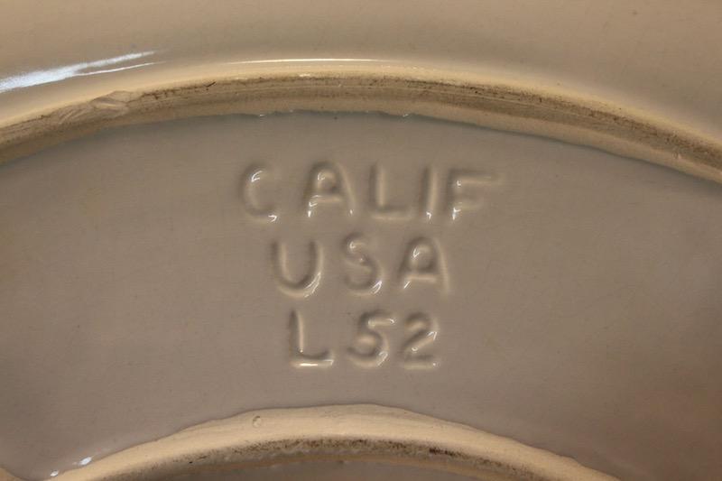 USA Made California Snack Set Mid-century